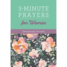 3 Minute Prayers For Women Devotional Journal
