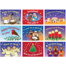 45 Christmas Stickers