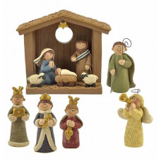 Six Piece Nativity Set