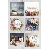 Something Different Birthday Assortment Box (12 cards)