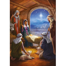Compassion Charity Christmas Cards - Stable Scene (Pack of 10)