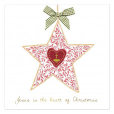 Compassion Charity Christmas Cards - Heart Of Christmas (Pack of 10)