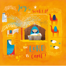 Compassion Charity Christmas Cards - Joy To The World (Pack of 10)