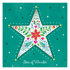 Compassion Charity Christmas Cards - Star Of Wonder (Pack of 10)