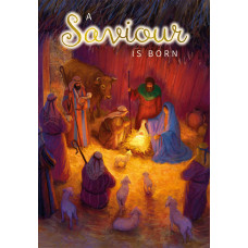 Compassion Charity Christmas Cards - A Saviour Is Born (Pack of 10)