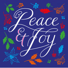 Compassion Charity Christmas Cards -Peace and Joy (Pack of 10)