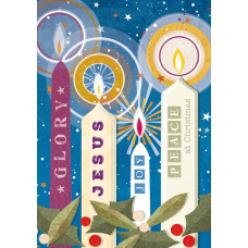 Compassion Charity Christmas Cards - Candles (Pack of 10)