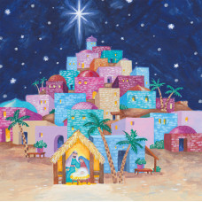 Compassion Charity Christmas Cards - Bethlehem (Pack of 10)