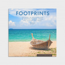 Footprints - 2021 Wall Calendar