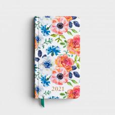 2021 Premium Pocket Planner - Floral