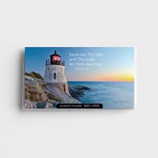Lighthouses - 2021-2022 - 28 Month Pocket Planner