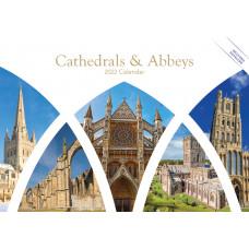 Cathedrals & Abbeys A5 Calendar 2021