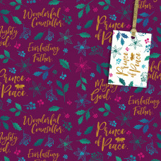 Christmas Giftwrap and Tags Pack - Prince of Peace