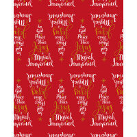 Christmas Giftwrap and Tags Pack - Names of Jesus