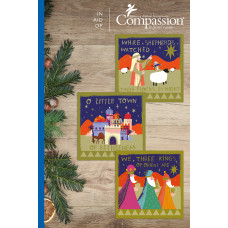 Compassion Christmas Charity Minicard Pack: Carols (18 Cards)