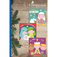 Compassion Christmas Charity Minicard Pack: Cute (18 Cards)