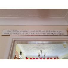 The Lord Bless You And Keep You Extra Long Plaque