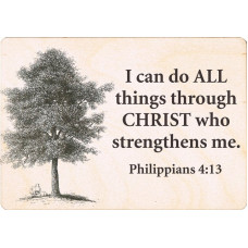 Christian Sign Post - I Can Do All Things