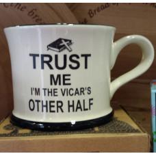 Trust Me Vicar's Other Half Mug