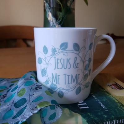 Jesus & Me Time Mug