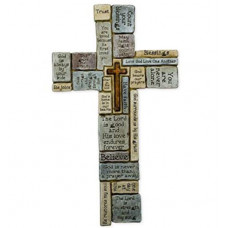 Ceramic Wall Cross