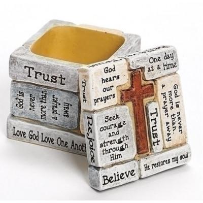 Keepsake Box With Cross