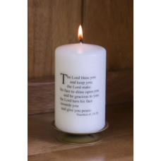 Numbers Blessings Candle
