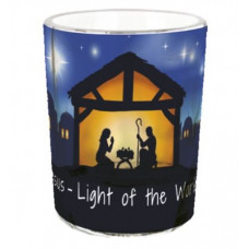Light of The World Tea Light Holder
