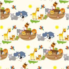 Gift Wrap - Noah's Ark