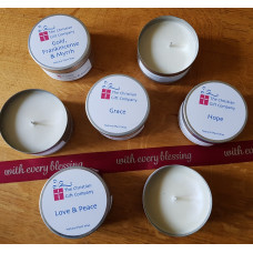 Fruit Of The Vine Tinned Candle