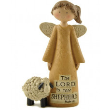 The Lord Is My Shepherd Angel Ornament