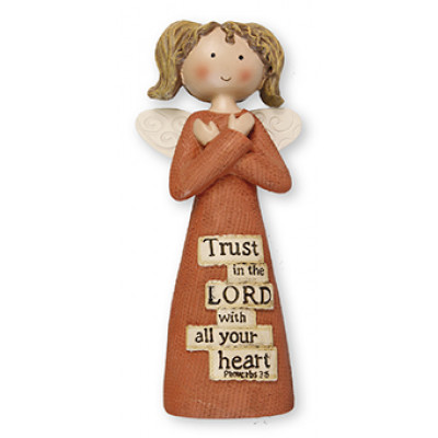 Trust In The Lord Angel Ornament