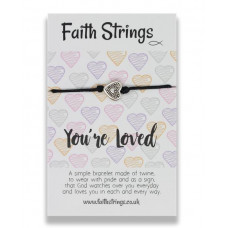 Faith Strings Bracelet - You're Loved