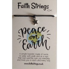 Faith Strings Bracelet - Peace On Earth