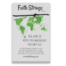 Faith Strings Bracelet - The Lord Is With You