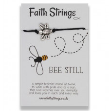 Faith Strings Bracelet - Bee Still