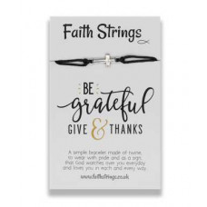 Faith Strings Bracelet - Be Grateful