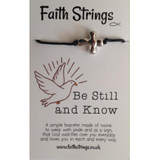 Faith Strings Bracelet - Be Still And Know