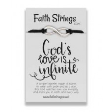 Faith Strings Bracelet - God's Love Is Infinite