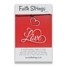 Faith Strings Bracelet - Love