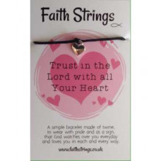 Faith Strings Bracelet - Trust In The Lord