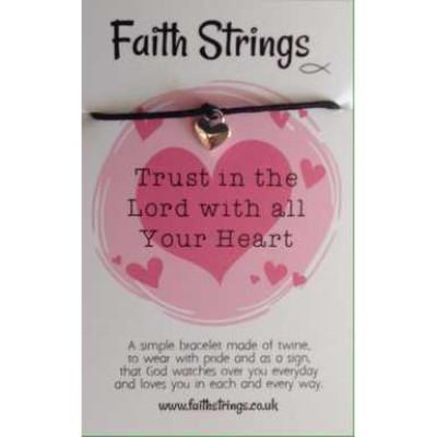 Faith Strings Bracelet - Trust In The Lord