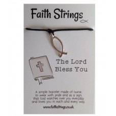 Faith Strings Bracelet - Bless You