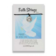 Faith Strings Bracelet - Peace Be With You