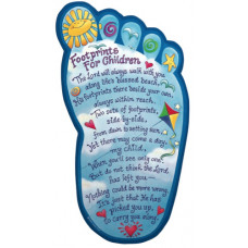 Footprints Foot Plaque for Children