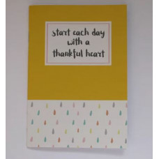 Start Each Day With A Grateful Heart Notebook