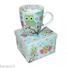 Owl Scripture Mug