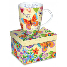 Fill Your Life With Love Boxed Mug