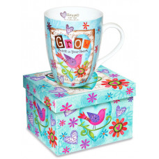 Grow Peace In Your Heart Boxed Mug