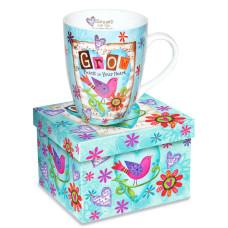 Grow Peace In Your Heart Mug